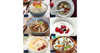 包括:煮飯、熬湯、熬粥、燜煮、優格和燉飯
