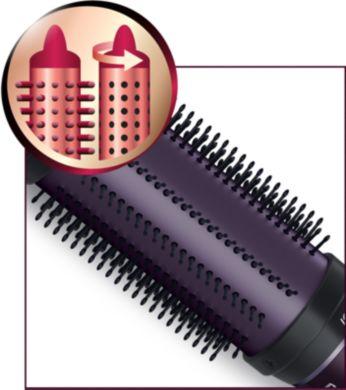 Прибиращи се зъбци за бързо и лесно освобождаване на косата