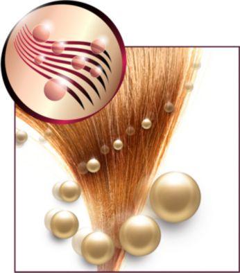 Йонна грижа и турмалиново покритие за блестяща коса