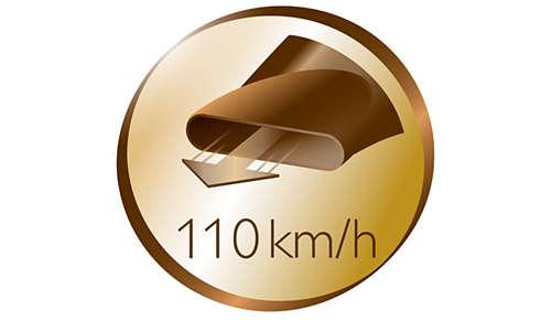 110km/h torkningshastighet för snabb torkning