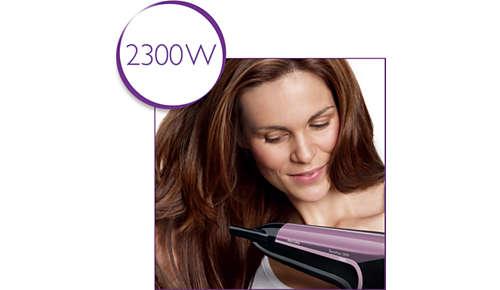 Professionelle Leistung von 2300W für tolle Stylingergebnisse