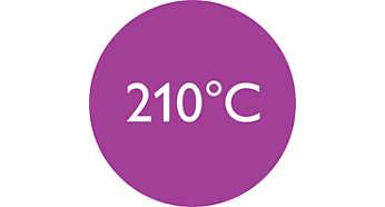 Temperatura professionale a 210 °C per risultati perfetti