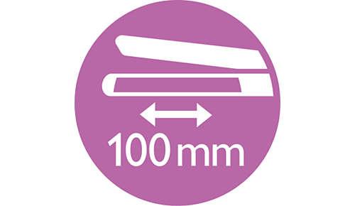 Lange Platten für schnelles und einfaches Glätten