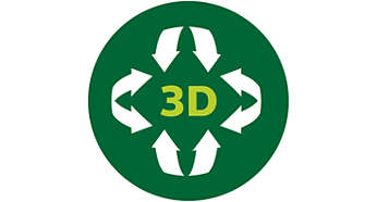 Равномерное распределение тепла благодаря функции 3D-нагрева