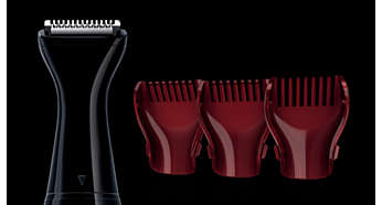 3 different combs for your perfect length