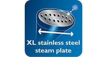 加大不鏽鋼蒸氣底板令燙衣過程更快