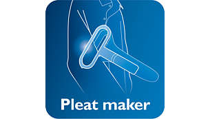 Pleats made easy with pleat making accessory