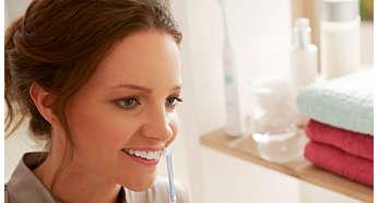 O modalitate uşoară de a îmbunătăţi curăţarea spaţiilor dintre dinţi