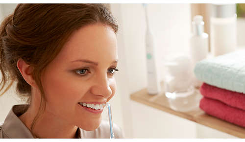 Eine einfache Möglichkeit für eine verbesserte Reinigung zwischen den Zähnen