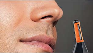 鼻毛/眉毛カッターでムダ毛を簡単にトリミング