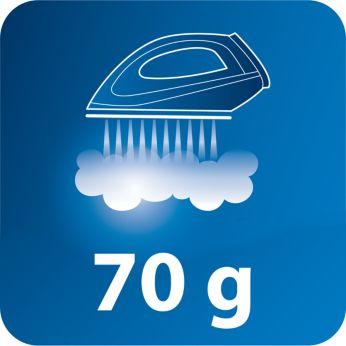 Steam boost up to 70g