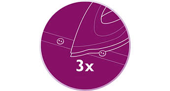 최적의 제어 및 가시성을 위한 3중 정밀 팁