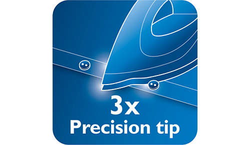 Triple Precision Tip giver optimal kontrol og synlighed