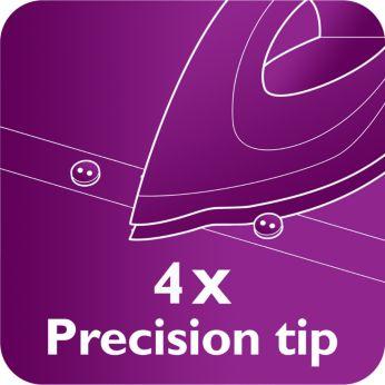 La punta Quattro Precision raggiunge anche i punti più difficili