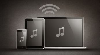 Bluetooth® (aptX® 及 AAC) 適用於無線音樂串流