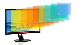 Λειτουργία SmartSize για αναπαραγωγή σε διάφορα μεγέθη οθόνης