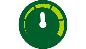 Controlo do tempo e da temperatura ajustável manualmente