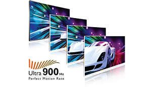 900 Hz Perfect Motion Rate Ultra voor Ultra HD-beeldkwaliteit