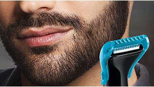 Peine para la barba de 4mm para mantener la barba corta