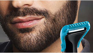 4mm Beard comb for maintaining a short beard
