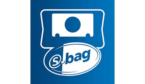 Le sac S-bag classique longue performance dure jusqu'à 50% plus longtemps