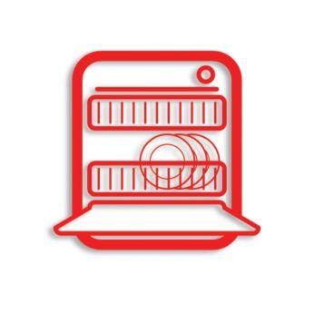 Komponen pengaman pencuci piring