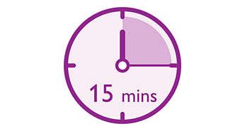 製麵僅需短短 15 分鐘