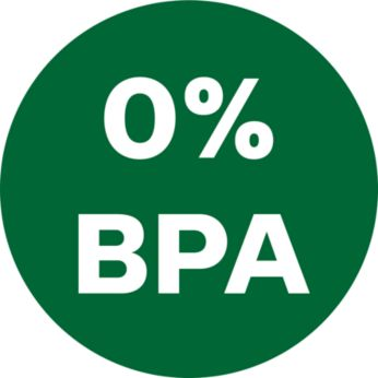 Food grade material (BPA Free) for all food contacting part