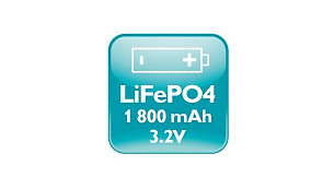 Fast Rechargeable, Energy saving LifeP04 battery technology