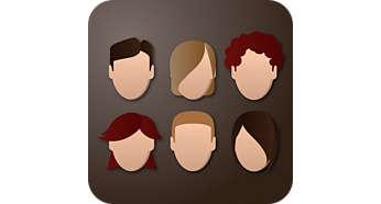 Personalice su café con 6 perfiles de usuario