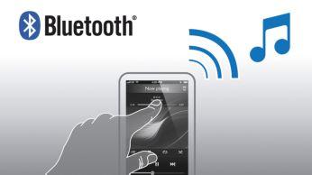 """Transliuokite muziką belaidžiu būdu per """"Bluetooth™"""" iš išmaniojo telefono"""