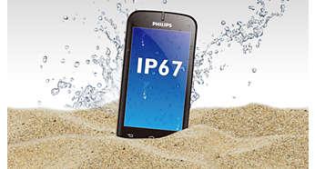 Соответствует стандарту IP67: защищен от влаги и пыли