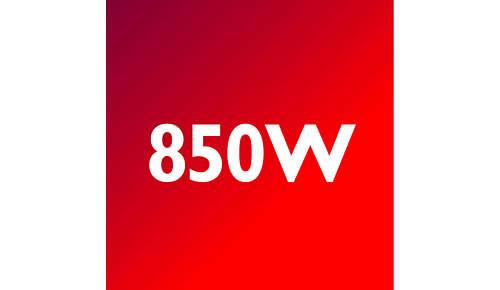 850-Watt-Motor für leistungsstarke Verarbeitung