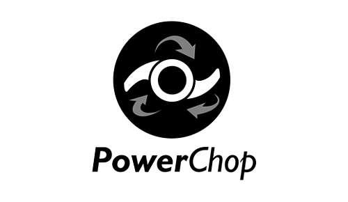 Technologie PowerChop, pour un excellent hachage