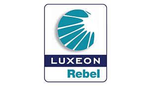Με 2 λυχνίες LED Luxeon νέας γενιάς και υψηλής ισχύος (60 lux)