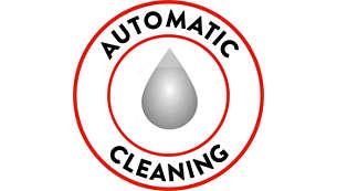La macchina è sempre pulita grazie alla pulizia automatica del circuito