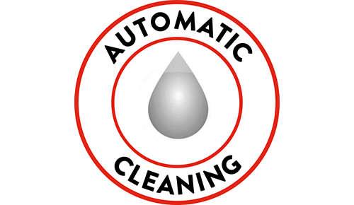 Une machine toujours propre grâce au nettoyage automatique du circuit