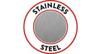 Corpo in acciaio inossidabile per una prestazione duratura
