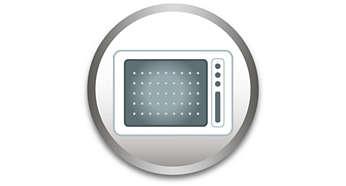 Para uso en microondas