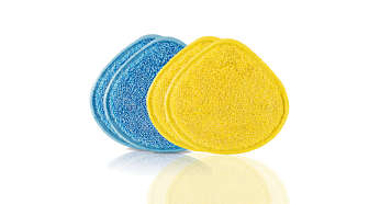 Washable and durable microfiber pads