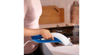 Узкая паровая насадка для уборки на труднодоступных участках