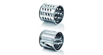 Приложени цилиндри за нарязване и настъргване