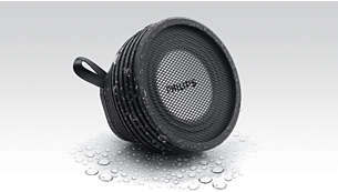 Rugged and splash-proof design ideal for indoor and outdoor use