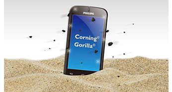 """Устойчивый к царапинам дисплей 4,3"""" со стеклом Corning Gorilla Glass"""