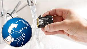 Abnehmbare Klingen für einfache Reinigung