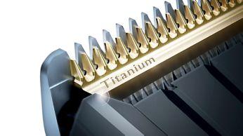 Самозаточващи се титанови ножчета за допълнителна издръжливост