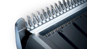 Self-sharpening steel blades for long-lasting sharpness