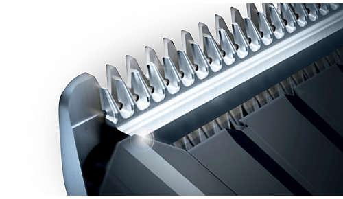 Cuchillas autoafilables de acero para un afilado duradero