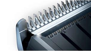 自動研磨式のステンレス刃で切れ味が長持ち