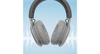 Mergulhe nos ritmos com as almofadas isolantes over-ear